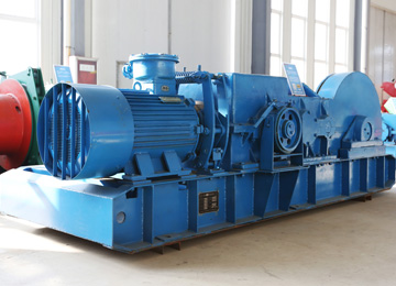 Multi Purpose Mining Two Speed Winch