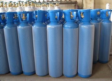 Compressed air bottles