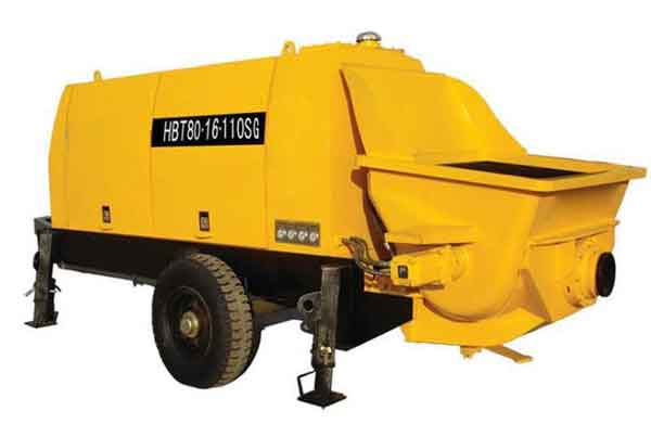 HBT Series Motor Concrete Pump