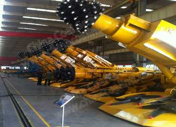 EBZ90 Mining Road Header Equipment