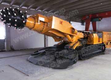 EBZ260 Underground Piling Equipment Coal Readheader