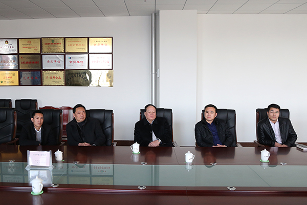 Warmly Welcome Economic Information Committee and Jining High-tech Zone Leaders Visit to China Coal Group