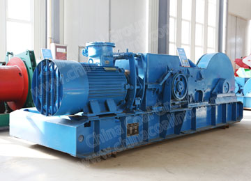 JSDB-10 Underground Mining Double Speed Lifting Winch
