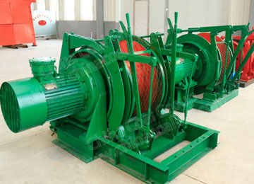 JD-1 10KN Electric Mining Dispatch Winch