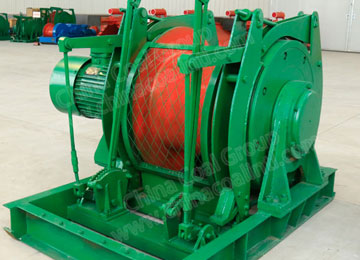 JD-1.6 Explosion Proof Electric Winch for Scheduling Mine Cart