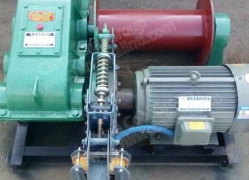 JM Electric Mining Low Speed Winch