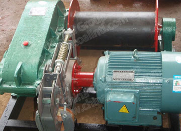 JK Mining Electric High Speed Winch