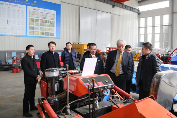 Warmly Welcome Thailand Siweiya Technology Co., Ltd., Chairman Joe MA Visit China Coal Group For Inspection