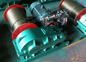 JK8 Lifting and Pulling Electric Windlass Winch