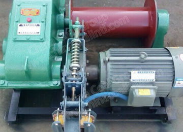 JM2 Small Pull Capacity Electric Low Speed Winch