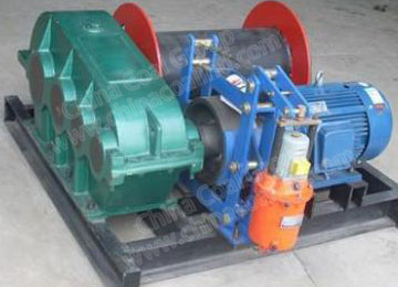 JM5 5 Ton Electric Slow Mining Winch