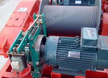 JM10 Lifting Mining Electric Winch