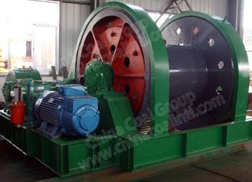 JZ-10/800 Mine Shaft Sinking Winch