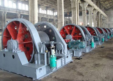 JZ-16/800 Electric Shaft Sinking Winch for Mine