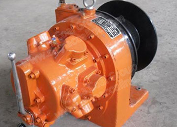 JQHS-50* 12 Air Tugger Winch for Coal Minings with Disc Brake