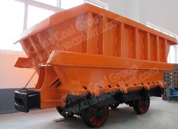 Drop-bottom Mining Wagon Car