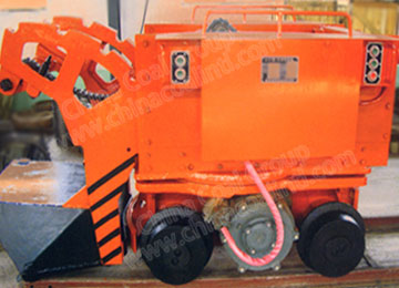 Mining Mucker Shovel Tipping Car