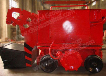 Z-20 Rail Mucking Machine