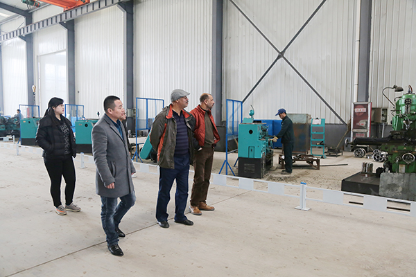 Warmly Welcome Egyptian Merchants To Visit China Coal Group For Inspection And Purchases
