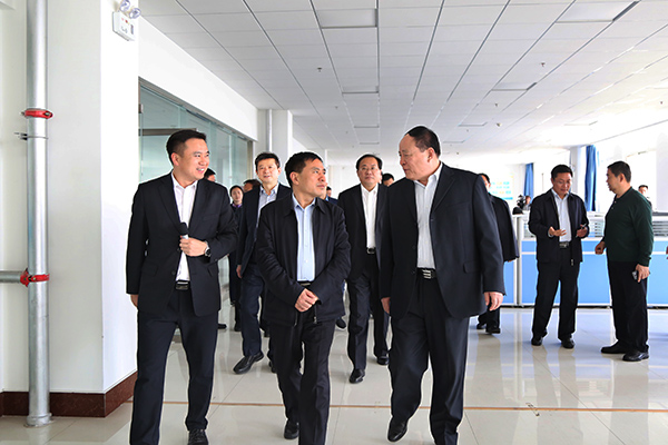 Warmly Welcome Hebi Municipal Party Committee Secretary Fan Xiufang And Mayor Guo Hao To Visit China Coal Group For Inspection