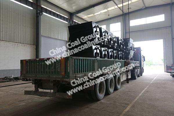 China Coal Group Sent A Batch Of New Type Dump Mine Cars To Shangrao City Jiangxi Province