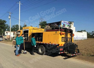 SDZ5087TXBE Bitumen Pavement Repair Vehicle