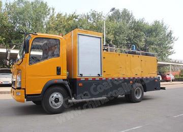 SDZ5107TXBE Asphalt Pavement Thermal Regeneration Repair Vehicle