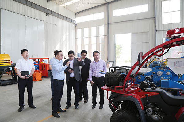 Warmly Welcome Leaders Of Yantai Hi-Tech Zone Intelligent Manufacturing Industry Development And Promotion Center To Visit China Coal Group