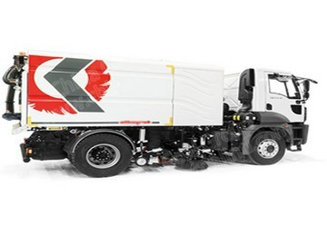 68hp 4*2 Large Road Sweeper
