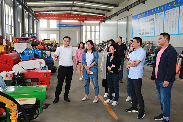 Warmly Welcome New Colleagues From Zhong Yun Intelligent Machinery (Yantai) Co., Ltd. To Visit China Coal Group