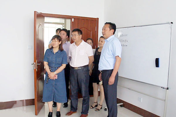 Warmly Welcome Jining Tourism Association Leaders To Visit China Coal Group Yuangu Tourism Company For Inspection