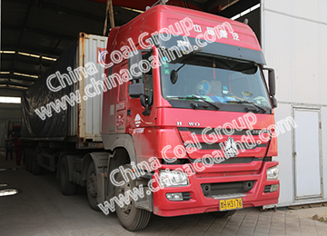 China Coal Group Sent A Batch Of Fixed Mine Cars To Shanxi Province Lvliang City