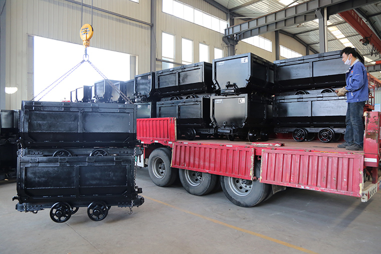 China Coal Group Sent A Batch Of Fixed Mine Cars To A Mine In Beijing City