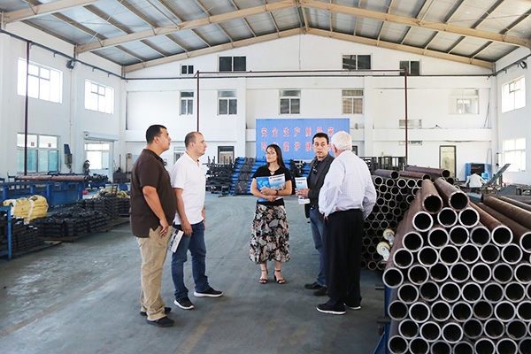 Warmly Welcomes Colombian Merchants To Visit China Coal Group For Purchase Steel Material