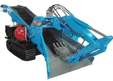 Underground Mucking Rock Loading Machine Crawler Mucking Loader