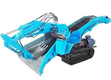 Underground Mining Crawler Based Mucking Shovel Loader