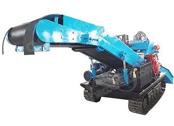 LWLX Crawler Mucking Rock Loader For Mining