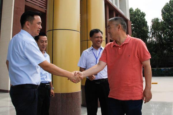 Warmly Welcome Wenzhou Pentium Laser Chen And Kaohsiung Taiwan To Visit China Coal Group