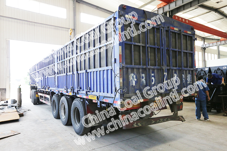 Chian Coal Sent A Batch Of Side Dump Mine Car To Jincheng City Shanxi Province