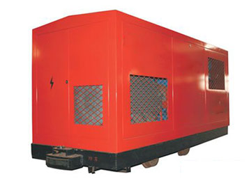ZWY Underground Coal Mine Mobile Gas Pumping Station