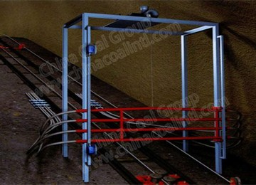 Inclined Roadway Rail Catcher