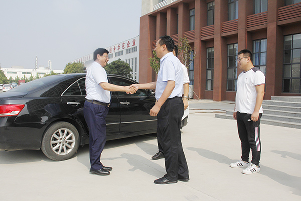 Warmly Welcome The Dongfang Wenbo Cultural Development Co., Ltd.  Leaders To Visit China Coal Group For Cooperation