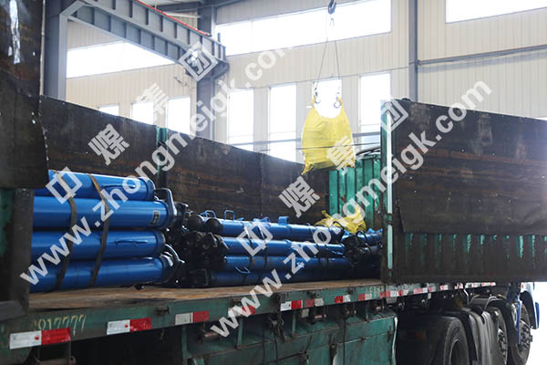 China Coal Group Sent A Batch Of Suspended Single Hydraulic Props To Yinzhou City Shanxi Province