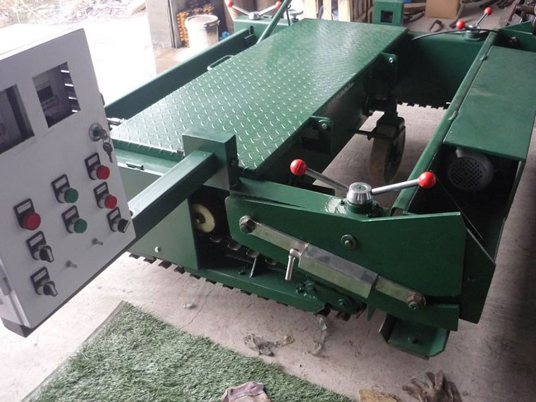 TPJ Electrical rubber Paver Machine