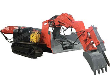 The First Coal Mining Excavator Loader Assembly Line