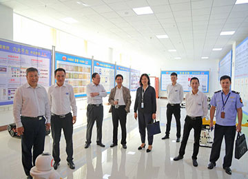 Warmly Welcome The Leaders Of The Shandong Provincial Market Supervision Bureau To Visit The China Coal Group