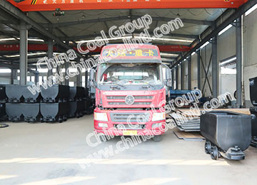 China Coal Group Sent A Batch of Fixed Mining Cars to Shanxi Province