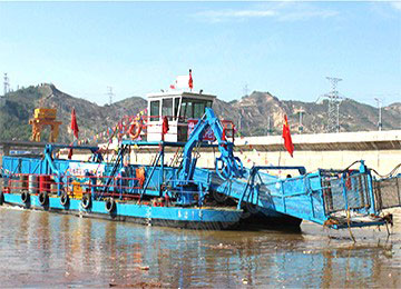 Hydropower Dam Floating Salvage Ship