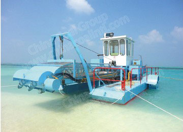 Seabed Aquatic Plant Harvester
