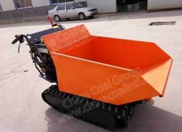 Self-unloading Crawler Transport Vehicle Transport Truck